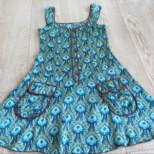Free People Dresses - Free people Silk Retro Floral Dress Size 4